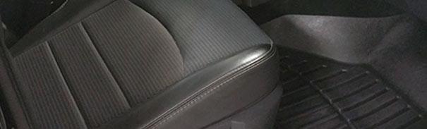 Ceramic Pro fabric coating on car interior seats